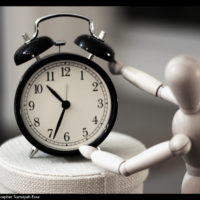 時間を取る