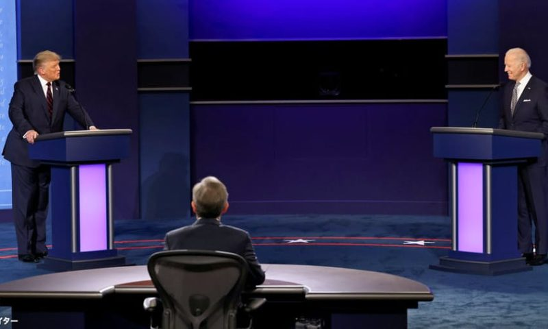 米大統領テレビ討論