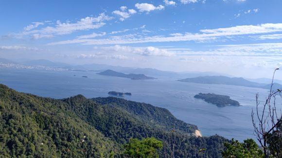 弥山からの眺望