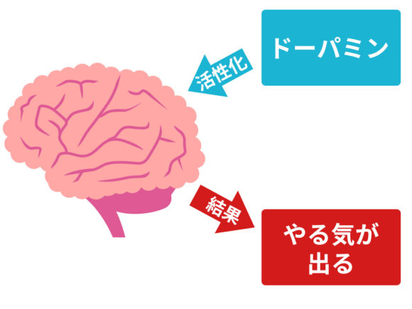 脳とドーパミン