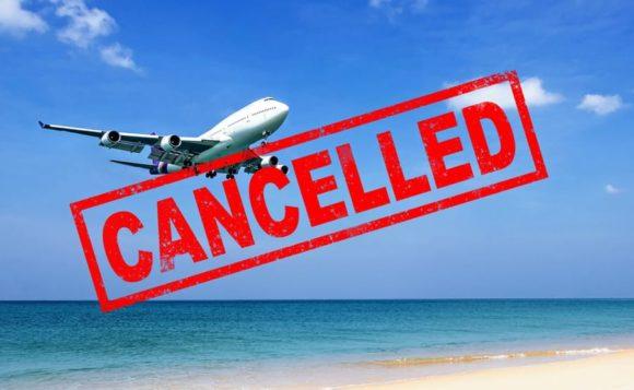 旅行のキャンセル
