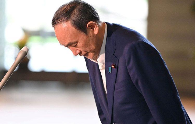 管首相退陣