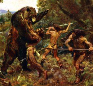 太古の昔の狩猟